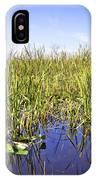 Florida Everglades 5 IPhone Case
