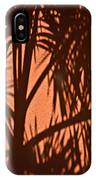 Florida Palm Shadow IPhone Case