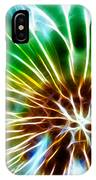 Flower - Dandelion Tears - Abstract IPhone Case