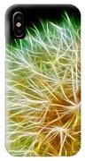 Flower - Forbidden Planet - Abstract IPhone Case