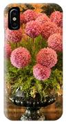 Flower Arrangement Chateau Chenonceau IPhone Case