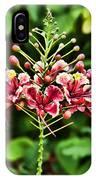Flower Fireworks IPhone Case