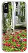 Flower Garden Seat  IPhone Case