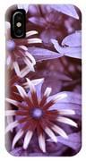 Flower Rudbeckia Fulgida In Uv Light IPhone Case