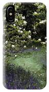 Flowering Trees Amid A Meadow Full IPhone Case