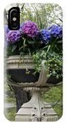 Flowerpot With Hydrangea IPhone Case