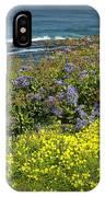 Flowers Along The Shore At La Jolla California No.0203 IPhone Case