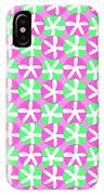 Flowers And Spots  IPhone Case