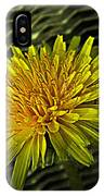 Flowers Are Weeds With Respect IPhone Case