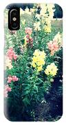 Flowers At Noon IPhone Case