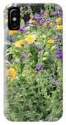 Flowers In Charlottenburg Palace Garden IPhone Case