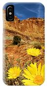 Flowers In The Capitol IPhone Case