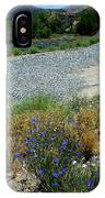 Flowers In The Gold Hill Desert IPhone Case