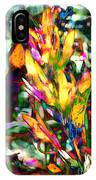 Flowers On Fire IPhone Case