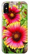Flowers On The Beach IPhone Case