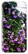 Flowers On The Hill IPhone Case