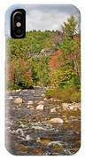 Flowing Into Autumn IPhone Case