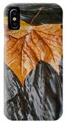 Flowing Leaf IPhone Case
