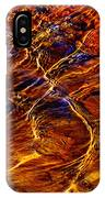 Flowing Water Of The Elwha IPhone Case