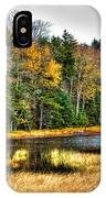 Fly Pond On Rondaxe Road II IPhone Case