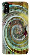 Flying Circles  IPhone Case