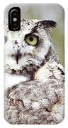 Followed Owl IPhone Case