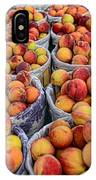 Food - Harvested Peaches IPhone Case