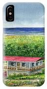 Foothills Of El Yunque Puerto Rico IPhone Case