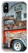 Ford At The U We Wash IPhone Case