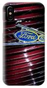 Ford Model 85 Emblem IPhone Case