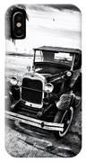 Ford Model T Film Noir IPhone Case