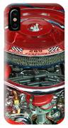 Ford Mustang Engine Bay IPhone Case
