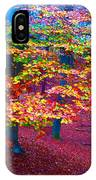 Forest Color Leaves IPhone Case