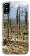 Forest Fire Aftermath IPhone Case