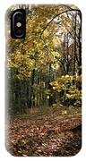 Forest In Fall IPhone Case