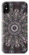 Forest Mandala 3 IPhone Case