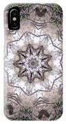 Forest Mandala 4 IPhone Case