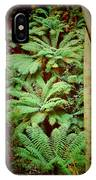 Forest Of Ferns IPhone Case