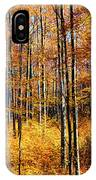 Forest Of Gold IPhone Case