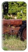 Forgotten Tractor 23 IPhone Case