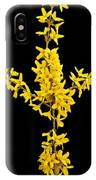 Forsythia Panorama 4426 IPhone Case