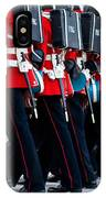 Fort Henry Guards Marching IPhone Case