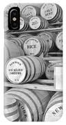 Fort Macon Food Supplies Bw 9070 3759 IPhone Case