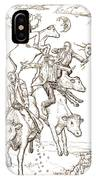 Four Mad Cowboys Of The Apocalypse IPhone Case