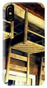 Four Wooden Chairs IPhone Case
