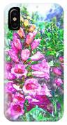 Foxglove Floral IPhone Case