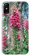 Foxglove Flowers IPhone Case