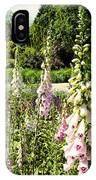 Foxgloves IPhone Case