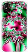 Fractal 12 Candycane Jester IPhone Case