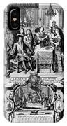 France: Baptism, 1704 IPhone Case